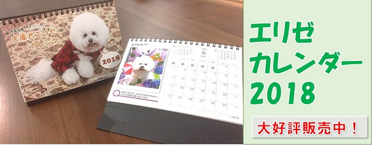 エリゼカレンダー2018